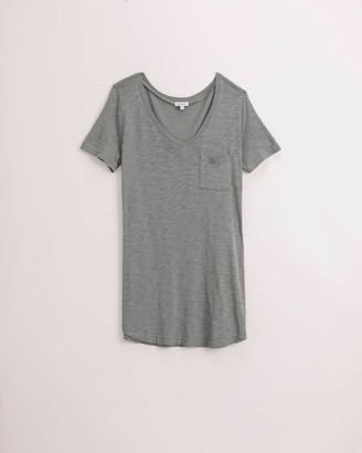 Splendid Short Sleeve Pocket Tee