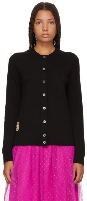 Marc Jacobs Black Knit Cardigan