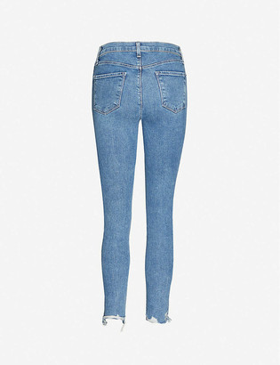 J Brand Alana skinny high-rise stretch-denim jeans