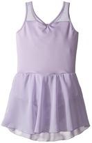 Bloch Embroidered Mesh Dress (Toddler/Little Kids/Big Kids)