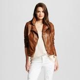 Women's Faux Leather Moto Jacket - Xhilaration