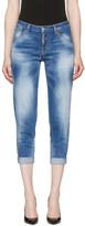 DSQUARED2 Blue Hockney Jeans