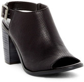 Very Volatile Lil Perforated Heel Bootie