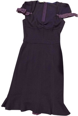Prada Navy Wool Dresses