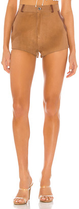 Understated Leather X REVOLVE Bandit Leather Combo Short