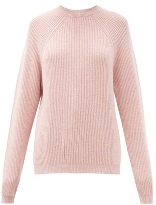 Johnstons of Elgin Odina Raglan-sleeve Cashmere Sweater - Pink
