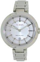 Nixon Women's Tessa A246100 Silver Stainless-Steel Swiss Quartz Watch with Silver Dial