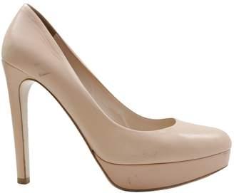 Miu Miu \N Pink Leather High Heel
