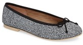 French Sole Women's Pearl Bow Flat