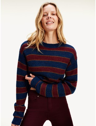 Tommy Hilfiger Icon Metallic Stripe Sweater