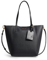 MICHAEL Michael Kors Penny Large Saffiano Convertible Leather Tote - Black