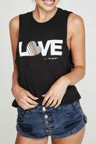 Spiritual Gangster Love Graphic Tank