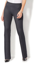 New York & Co. 7th Avenue Pant - High-Waist Mini Bootcut - Modern - Pull-On - Ponte