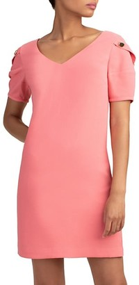 Trina Turk Lemonade Short-Sleeve Dress
