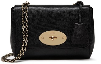 Mulberry Lily Black Glossy Goat