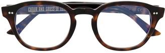 Cutler & Gross 1380 Square-Frame Optical Glasses
