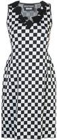 Moschino Checkboard Shift Dress