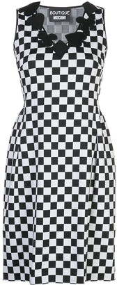 Boutique Moschino Checkboard Shift Dress