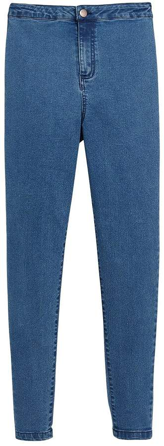 Very Mid Wash High Waist Super Skinny Jean