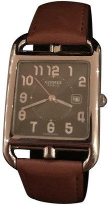 Hermes Cape Cod Anthracite Steel Watches