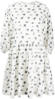 Cecilie Bahnsen Primrose floral-print dress