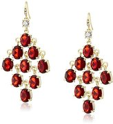 Carolee Russian Tea Room Russian Tea Room Kite Chandelier Pierced Earrings