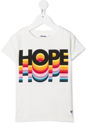 Molo graphic-print crew neck T-Shirt