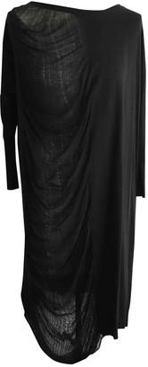 Raquel Allegra Black Cotton Dress for Women