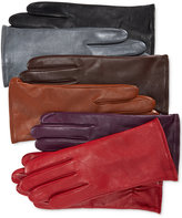 Charter Club Cashmere Lined Leather Tech Gloves, Only at Macy's