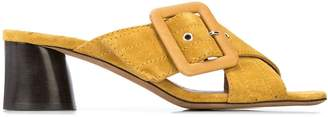 Tabitha Simmons Selena 45mm crossover straps sandals