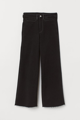 H&M Culotte High Ankle Jeans