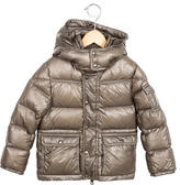 Moncler Boys' Down Hooded Jacket