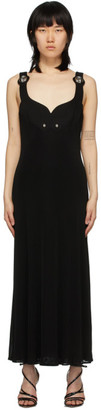 Christopher Kane Black Jersey Dome Dress