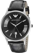 Emporio Armani Men's AR2411 Dial Leather Dial Watch