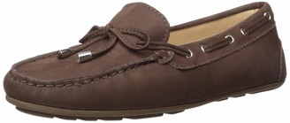 Driver Club USA Women's Leather Made in Brazil Nantucket 2.0 Tiebow Driver Moc Loafer
