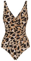 Gottex Leopard Wrap Swimsuit