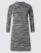 Marks and Spencer Textured Spacedye Long Sleeve Tunic