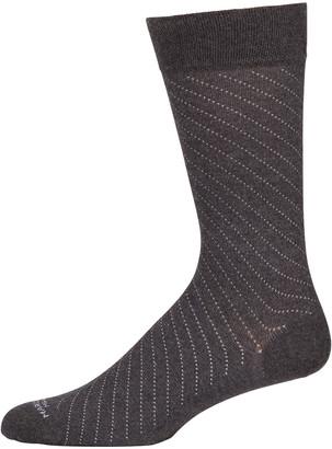 Marcoliani Milano Men's Regimental Pin-Dot Socks