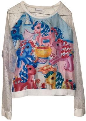 Andrea Crews Blue Silk Knitwear for Women