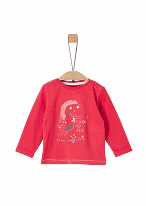 S'Oliver Baby Girls' 65.908.31.8816 Long Sleeve Top