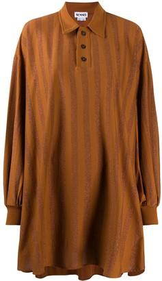 Sunnei Glitter Striped Shirt