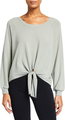 Eberjey Blair Knotted Jersey Pullover