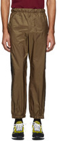 Prada Tan Stripe Lounge Pants
