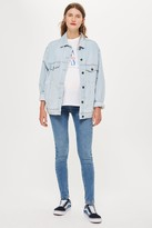Topshop Womens **Maternity Under The Bump Jamie Jeans - Mid Stone