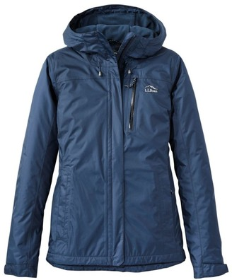 L.L. Bean Women's Trail Model Rain Jacket, Fleece-Lined