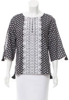 Figue Embroidered Maline Tunic