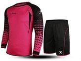 Kele Football Goalkeeper Long-Sleeve Suit Soccer Jersey Set