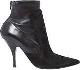 Givenchy Black Suede Ankle boots