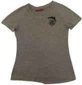 Carolina Herrera Grey Cotton Top for Women