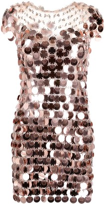 Paco Rabanne Sequin-Embellished Dress
